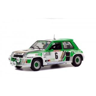 "Renault 5 Turbo Rally Gr ""B"" Rallye de Lozère 1985"" Alain Serpaggi / Yves Legal 1:18"