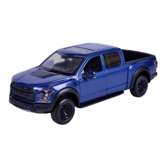 Ford F-150 Raptor metallic blue 1:24