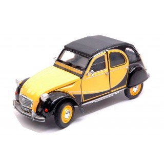 Citroen 2 CV Charleston 1982 Yellow  / Black 1:24