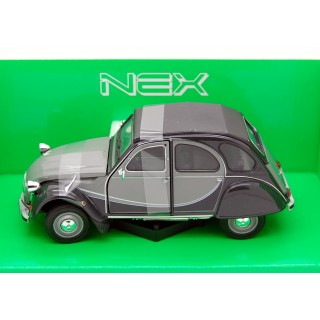 Citroen 2 CV Charleston 1982 Grey / Black 1:24
